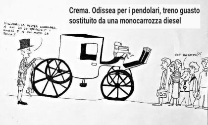 """Monocarrozza sulla Cremona-Treviglio, l'assessore Terzi: """"Disservizio intollerabile"""" FOTO"""