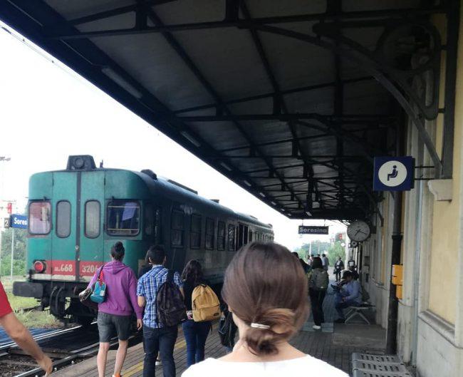 Monocarrozza diesel sulla Cremona Treviglio