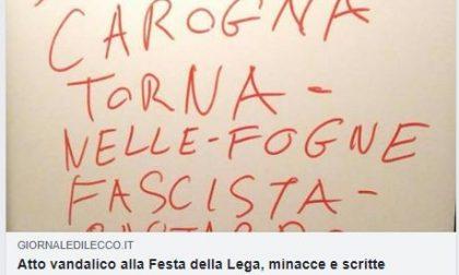 """Insulti a Salvini a Cisano e lui replica: """"Tanta pena per questi poveretti…"""""""