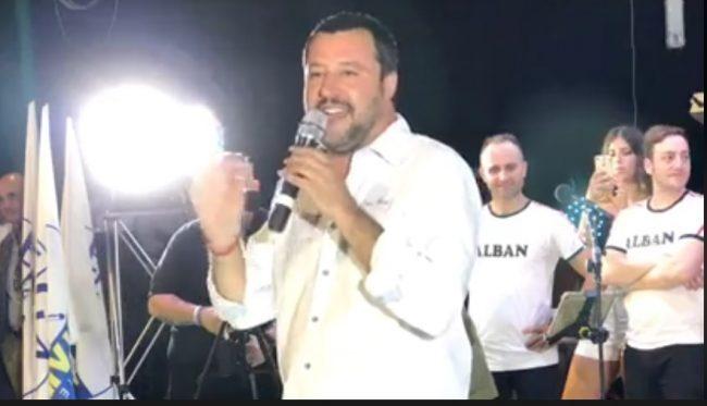 Salvini - Orban, l'incontro