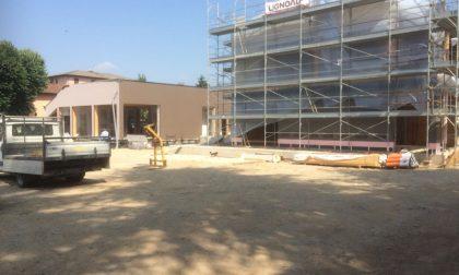 Castel Cerreto, la nuova scuola sarà pronta a ottobre FOTO