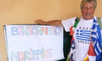 Nuova impresa di Nory Bertola: da Arcene al monte Olimpo a piedi e senza internet