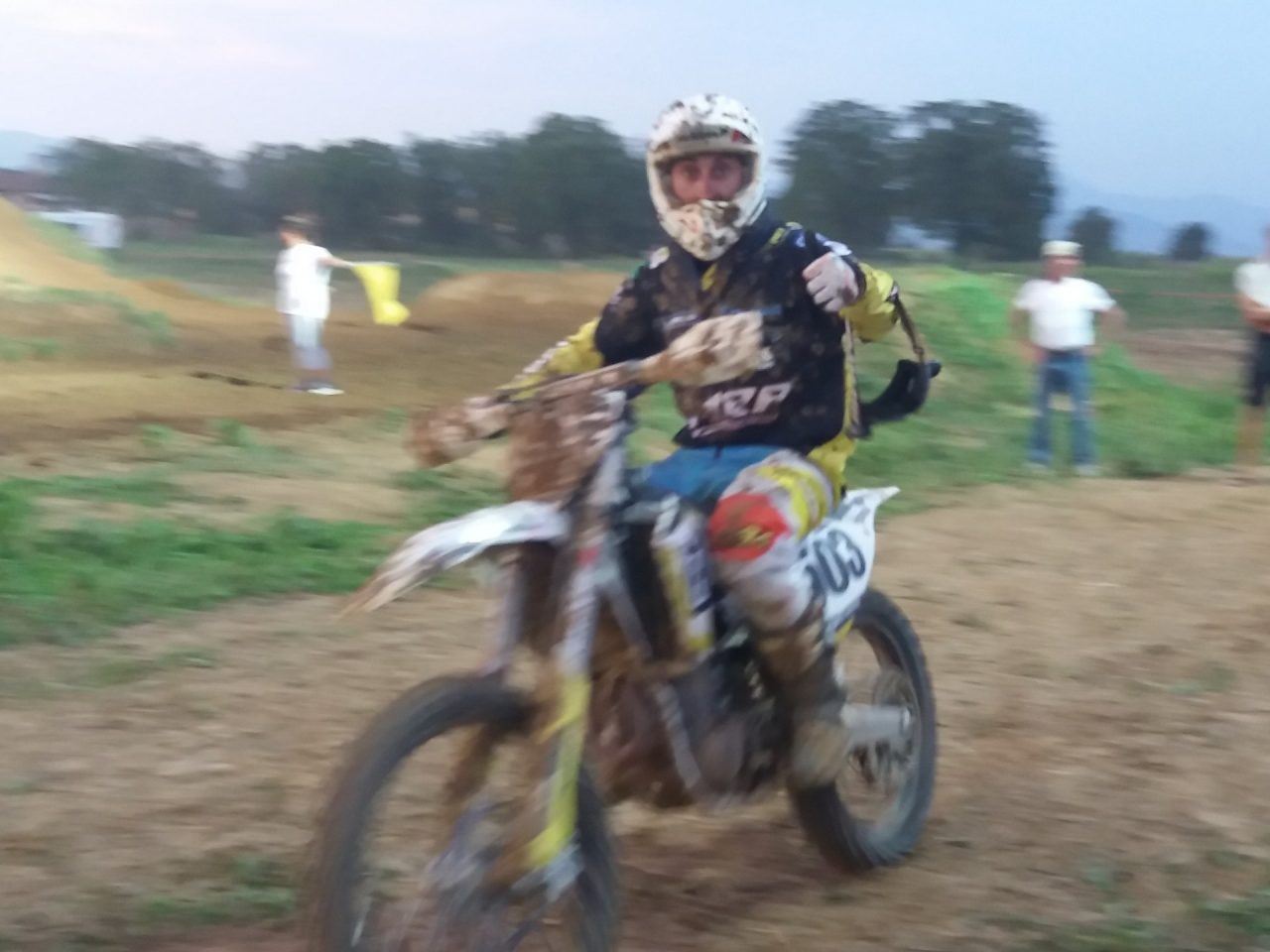 gara di motocross mornico