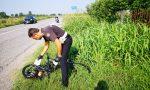 Ritrovato il furgone pirata che ha investito il ciclista FOTO