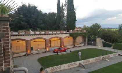 Alfa 4C al castello Silvestri per il set fotografico FOTO