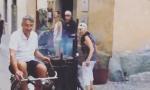 """Bici a vapore dell'inventore """"il Leonardo di Bormio"""" VIDEO"""
