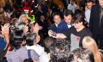"Frankie hi-nrg vs Salvini ""I selfie ai funerali di Stato, i selfie..."""