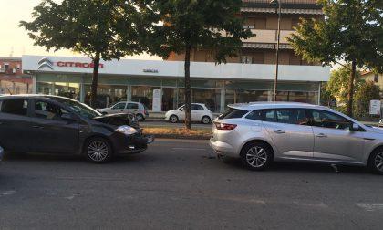 Tamponamento Treviglio, paura in viale Ortigara