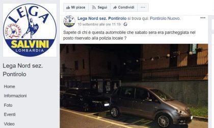 Parcheggio selvaggio a Pontirolo, sotto accusa anche il sindaco