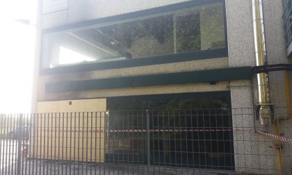 Incendio a Spirano falegnameria distrutta dalle fiamme