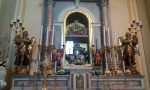 Reliquie dei due papi nella chiesa del paese, sono arrivate domenica