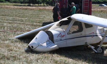 Cade un ultraleggero, grave incidente a Bergamo vicino alla Ss671