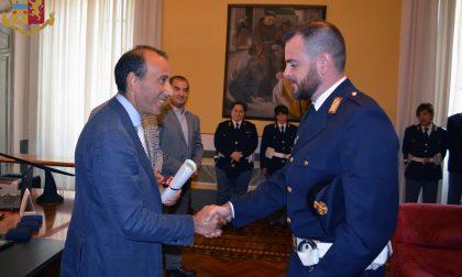 Il questore lascia Cremona e premia gli agenti di Polizia