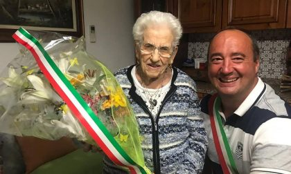 Festa a Ciserano per i 100 anni di Rachele Ippoliti
