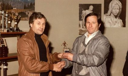 """Addio a Giuseppe """"Gnock"""" Gnocchi, padre della squadra di calcio locale"""