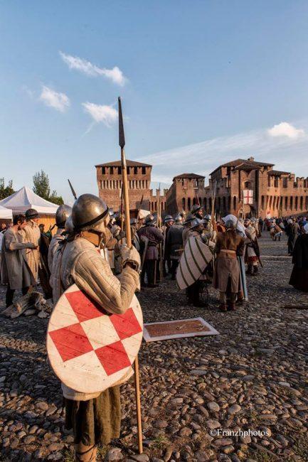 Assalto alla Rocca Rievocazione storica Soncino