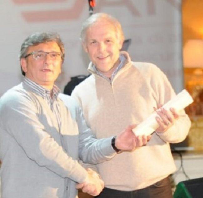 Atalanta Mozzanica Elio Garavaglia con Roberto Cervieri