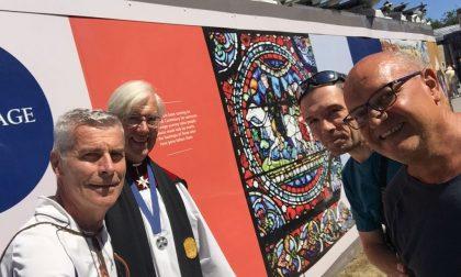 Sulla via Francigena con la benedizione del vescovo di Canterbury