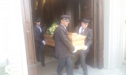 L'ultimo saluto di Pianengo a Velio Serena, morto in un incidente