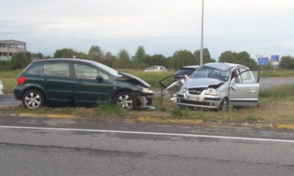 Incidente stradale sulla Rivoltana, cinque feriti