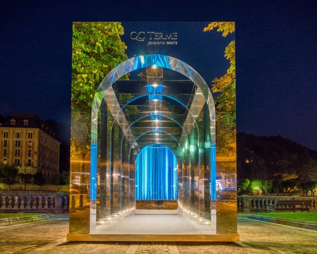 Portale dell'aQCua: Qc Terme celebra il rapporto tra uomo e acqua attraverso l'arte