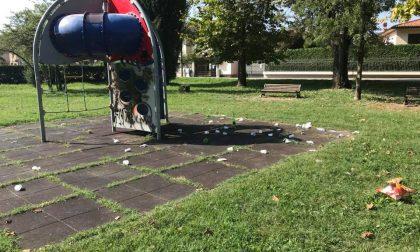 Ancora vandalismi al Parco Cà Magna