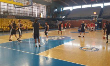 Blu Basket in campo per la prima amichevole contro Crema
