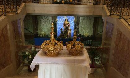 Incoronate le statue della Madonna e di Gesù bambino - FOTO