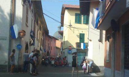 Party in Vespa, un tour per gli appassionati delle due ruote FOTO