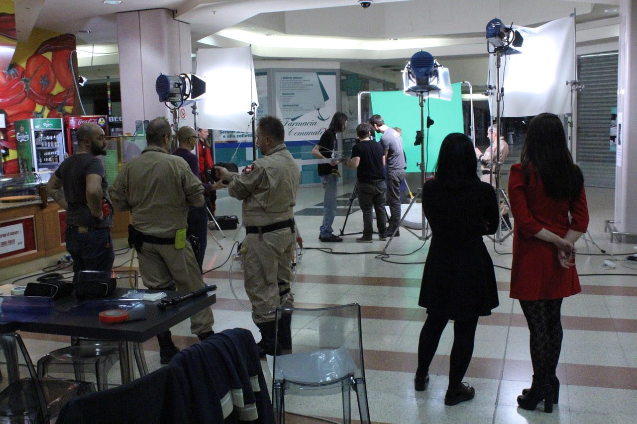 Backstage Ghostbuster Italia Fan Film