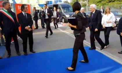 Mattarella a Monza: il Presidente della Repubblica è arrivato