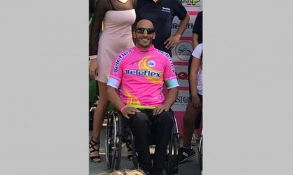 Alex Landoni, dall'incidente alla maglia rosa di handbike