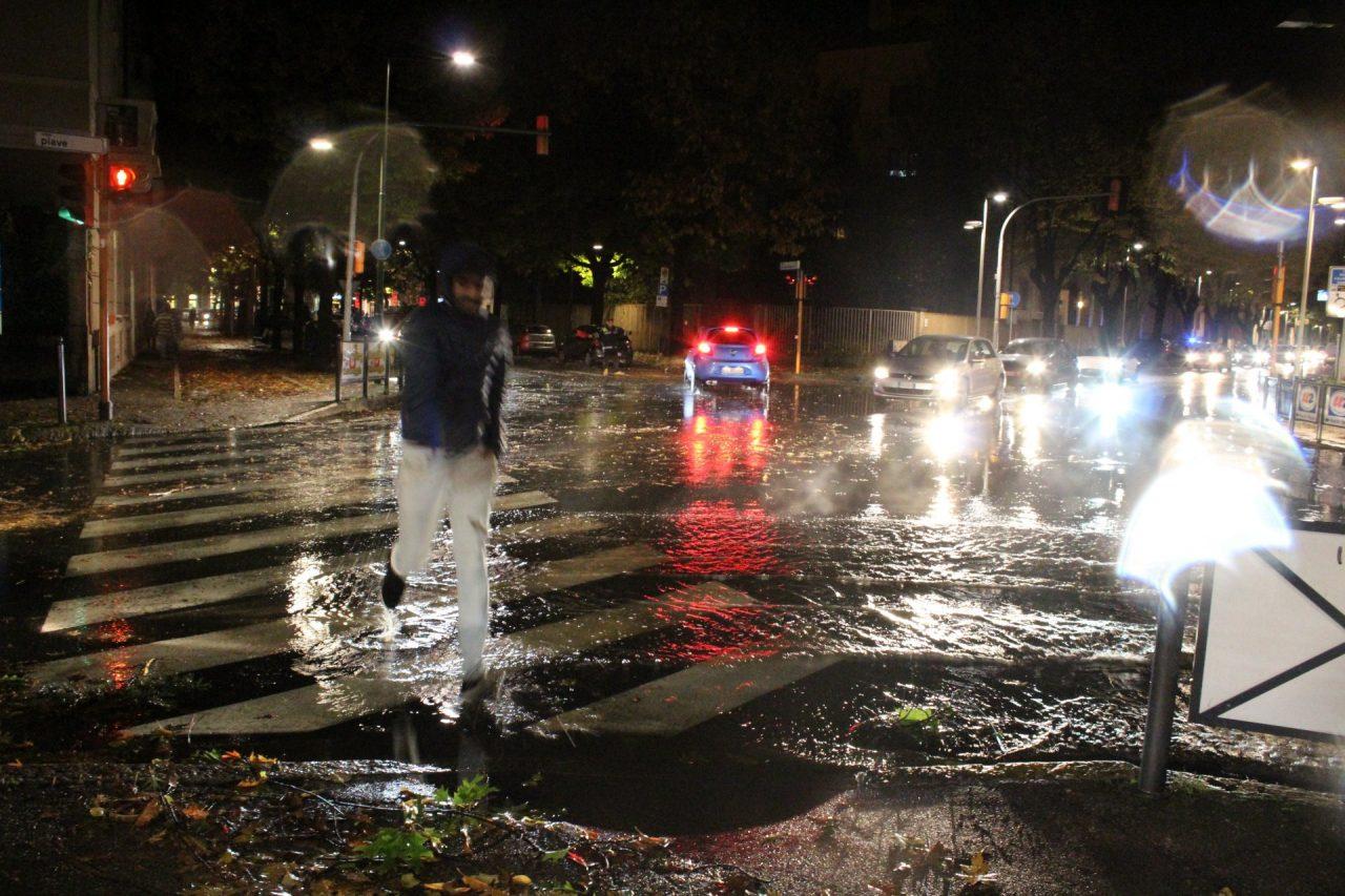 Maltempo Treviglio - Viale Piave
