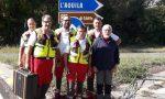 I sommozzatori di Treviglio a Popoli per cercare una persona scomparsa
