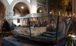 La salma di San Francesco Spinelli tornata a Rivolta riparte per Cremona FOTO VIDEO