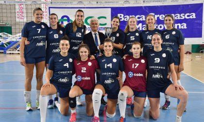 Volley Offanengo, tris per la Chromavis Abo