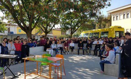 Il Consiglio dei giovani realizza l'aula all'aperto