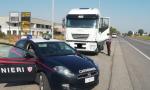 Con il Tir in città, quattro camionisti multati a Crema