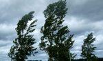 Tromba d'aria nel  Milanese, forti raffiche di vento anche a Treviglio