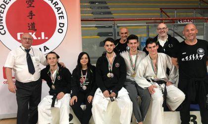 Ku Shin Kan Karate Club Urgnano, cinque titoli Italiani al Campionato Assoluto