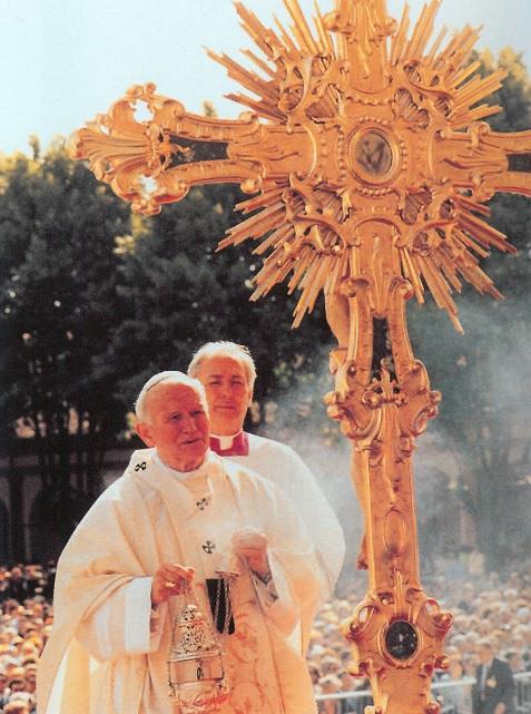 Papa Giovanni Paolo II a Caravaggio
