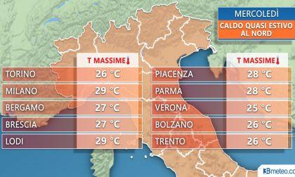Sarà un mercoledì d'estate: ma è colpa del riscaldamento globale?