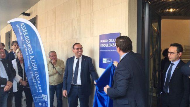 Bcc di Treviglio, inaugurato il Palazzo della Consulenza FOTO E VIDEO