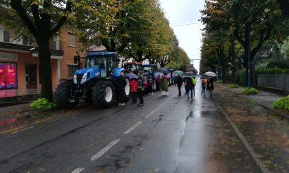 Gli agricoltori in corteo per la festa del ringraziamento FOTO