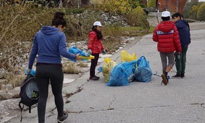 Cassano manipolo di volontari sulla Muzza per ripulirla dai rifiuti FOTO