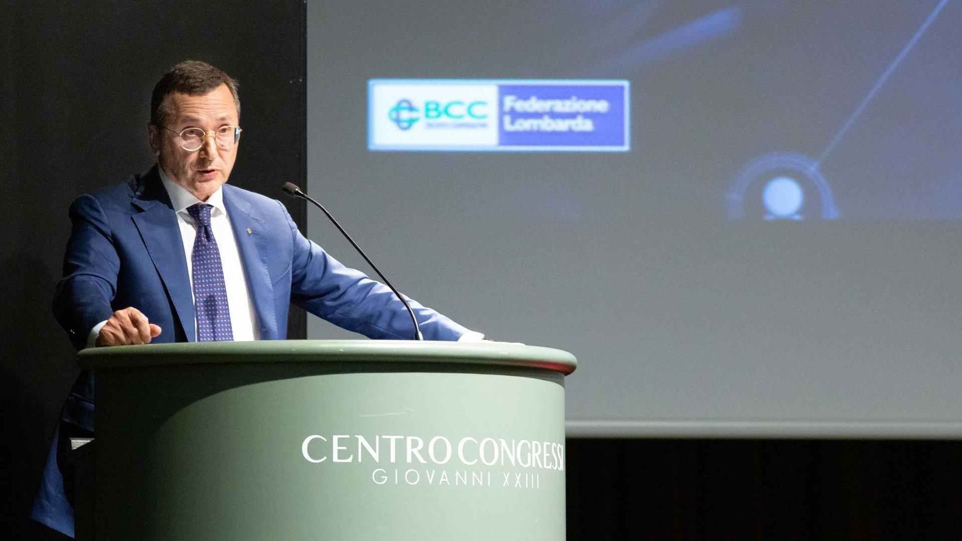 """Banche Bcc Lombardia a convegno a Bergamo: """"Un Gruppo solo forte, senza rinunciare all'autonomia"""""""