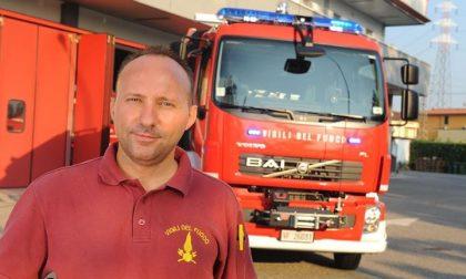 Bordegari nuovo comandate dei vigili del fuoco