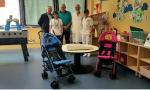 Nuove attrezzature donate dall'Abio Treviglio alla Pediatria