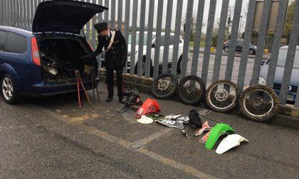 Razzia di moto nei garage, ladro arrestato dai carabinieri