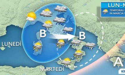 Ancora perturbazioni e maltempo sull'Italia PREVISIONI METEO